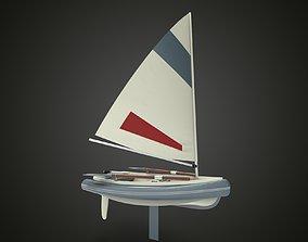 Sailing ship xx 3D model