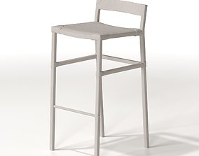 3D South Hill Home Sable Bar Stool