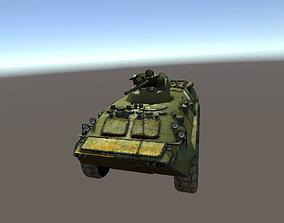 3D asset BTR-82A APC Russia