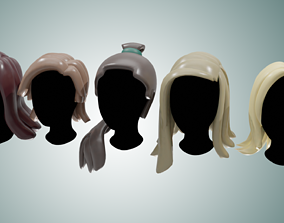 3D asset Base Haircuts 1-5 free sample