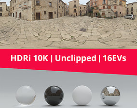 Hdri - Buildings And Clouds 3D