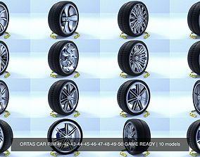 3D ORTAS CAR RIM 41-42-43-44-45-46-47-48-49-50 GAME READY