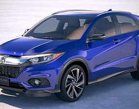 3D Honda HR-V 2018 US