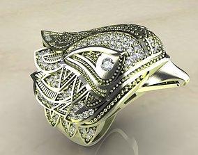 3D printable model SPECTACULAR BIRD RING