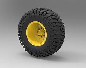 3D Offroad wheel vehicle