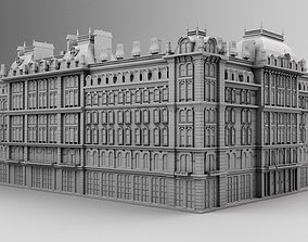 3D print model Chicago hotel