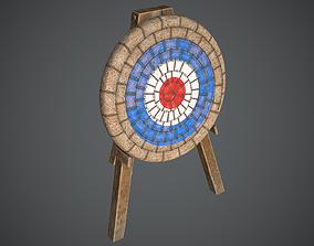 Target Medieval 3D asset