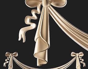 3D model Bow stucco