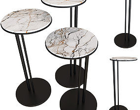 Coffee table Cattelan Italia Sting Set 05 3D model