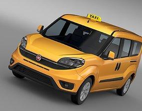 Fiat Doblo Maxi Taxi 152 2017 3D