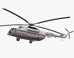 3D model Mi-8MTV Russian Emercom