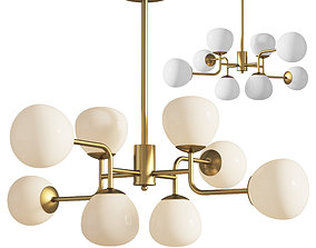 Chandelier Pendant Lamp Erich Maytoni 3D model