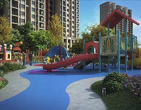 Children amusement park 19 3D model