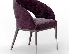 Side chair 3D asset