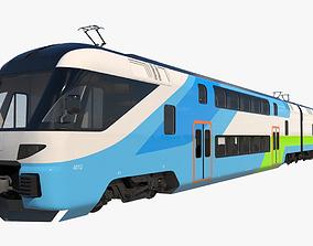 3D Stadler Dosto Train