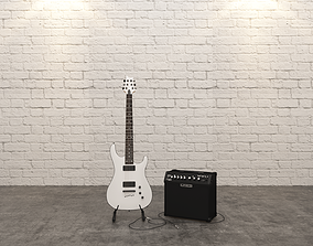 decoration 3D Guitar