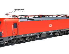 3D Siemens Vectron Locomotive Deutsche Bahn
