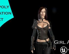 Girl Anna 3D model