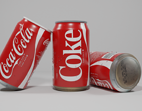 3D model can Coke Can