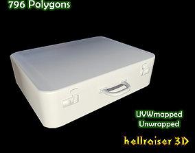 Suitcase 3D asset low-poly