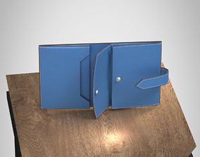 man 3D print model Leather wallet