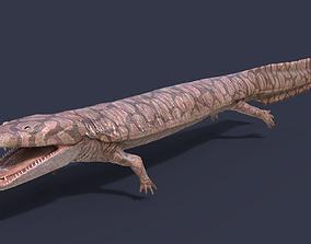 3D asset Extinct amphibians pack