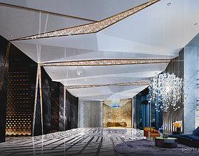 models Hotel lobby 3d model