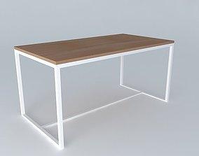 Coffee table IGLOO houses the world 3D model