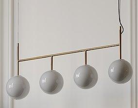 3D Enu Tr Bulb Suspension Frame Pendant Lamp by Dopo
