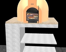 Wood Fire Oven 3D