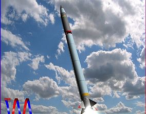 AGNI-2AT Ballistic Missile 3D