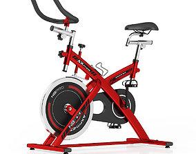 Stationary Spinning Bike 3D