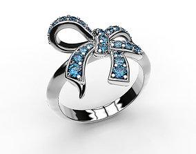 Ring BowKnot rings 3D print model