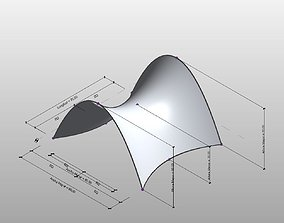 Parametric cover Cubierta parametrica 3D