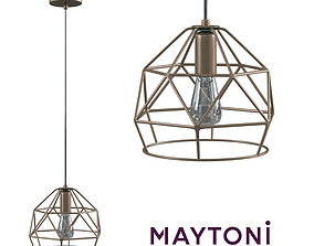 3D Pendant Soprano T432-PL-01-G Maytoni Loft