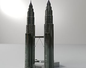 Petronas Twin Tower 3D