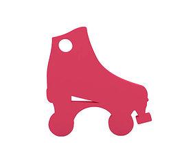 Keychain skate 3D printable model