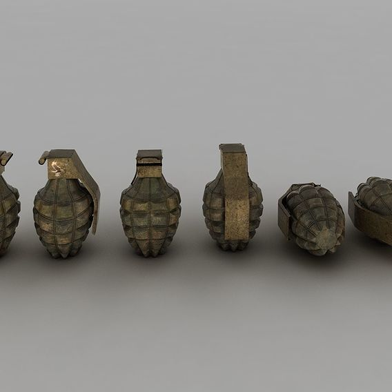 Hand Grenade MK2