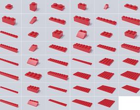 3D Lego Brick Collection - Master