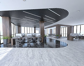 Prestige General Office Scene 3D