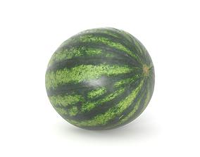 low-poly forest Watermelon 3D model Photoscan Melon