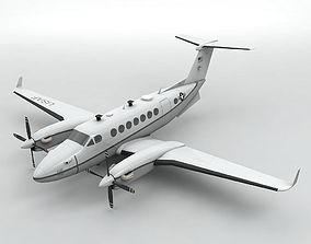 MC-12W Liberty Aircraft 3D asset
