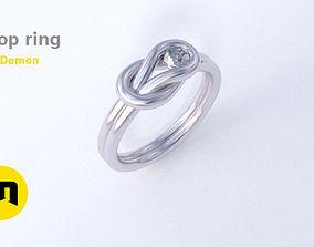 3D print model Loop ring