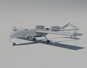 AII RQ-7 Shadow 200 Tactical UAV 3D