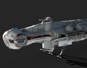 3D Tantive IV - Blockade Runner - Corellian Corvette