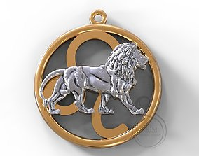 Lion symbol 3D print model