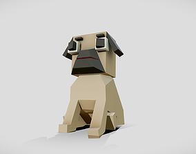 3D asset Simple Pug