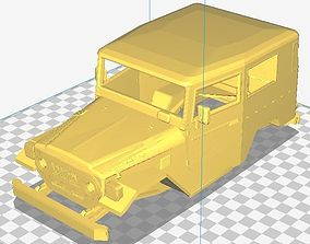 Toyota BJ-40 Printable Body Car