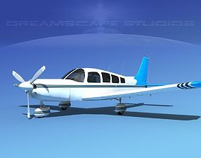 3D Piper Cherokee Six 260 V11