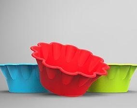 3D Ice cream bowl